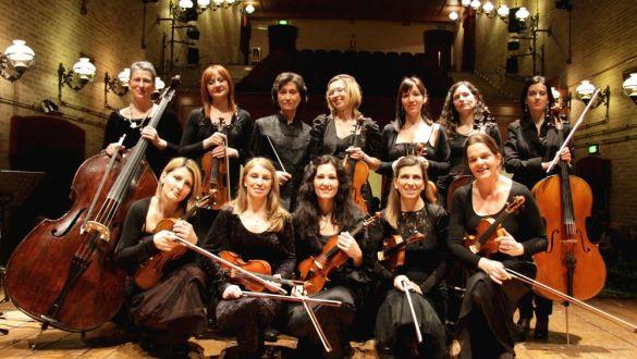 ORCHESTRA FEMMINILE DEL MEDITERRANEO - Direttore ANTONELLA DE ANGELIS - Violinista LAURA MARZADORI