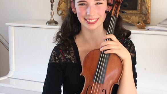 La Tarantella, come fonte di ispirazione Il Maestro incontra l'allievo - GAIA TRIONFERA Violinista - ELENA MATTEUCCI Pianista