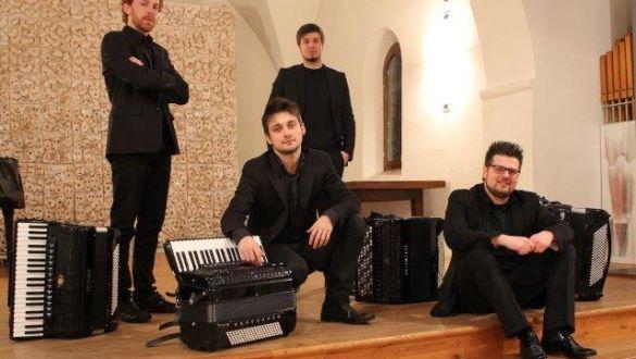 La Fisarmonica strumento classico AIRES QUARTETTO DI FISARMONICHE - ALESSANDRO AMBROSI - ALEX MODOLO - MAURO SCAGGIANTE - FEDERICO ZUGNO