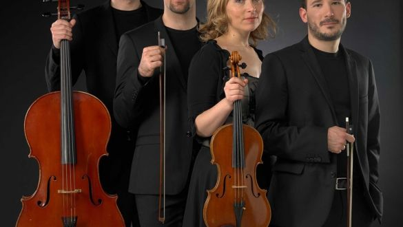 La Giovinezza e la Maturità - Quartetto d'Archi NOUS con TIZIANO BAVIERA Violinista - ALBERTO FRANCHIN Violinista - SARA DAMBRUOSO Violista - TOMMASO TESINI Violoncellista