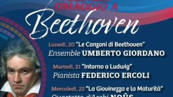 ABBONAMENTO RASSEGNA I GRANDI MAESTRI - OMAGGIO A BEETHOVEN (5 Concerti)