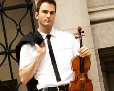 Stefan Milenkovich: il violinista ex enfant prodige torna a Bari